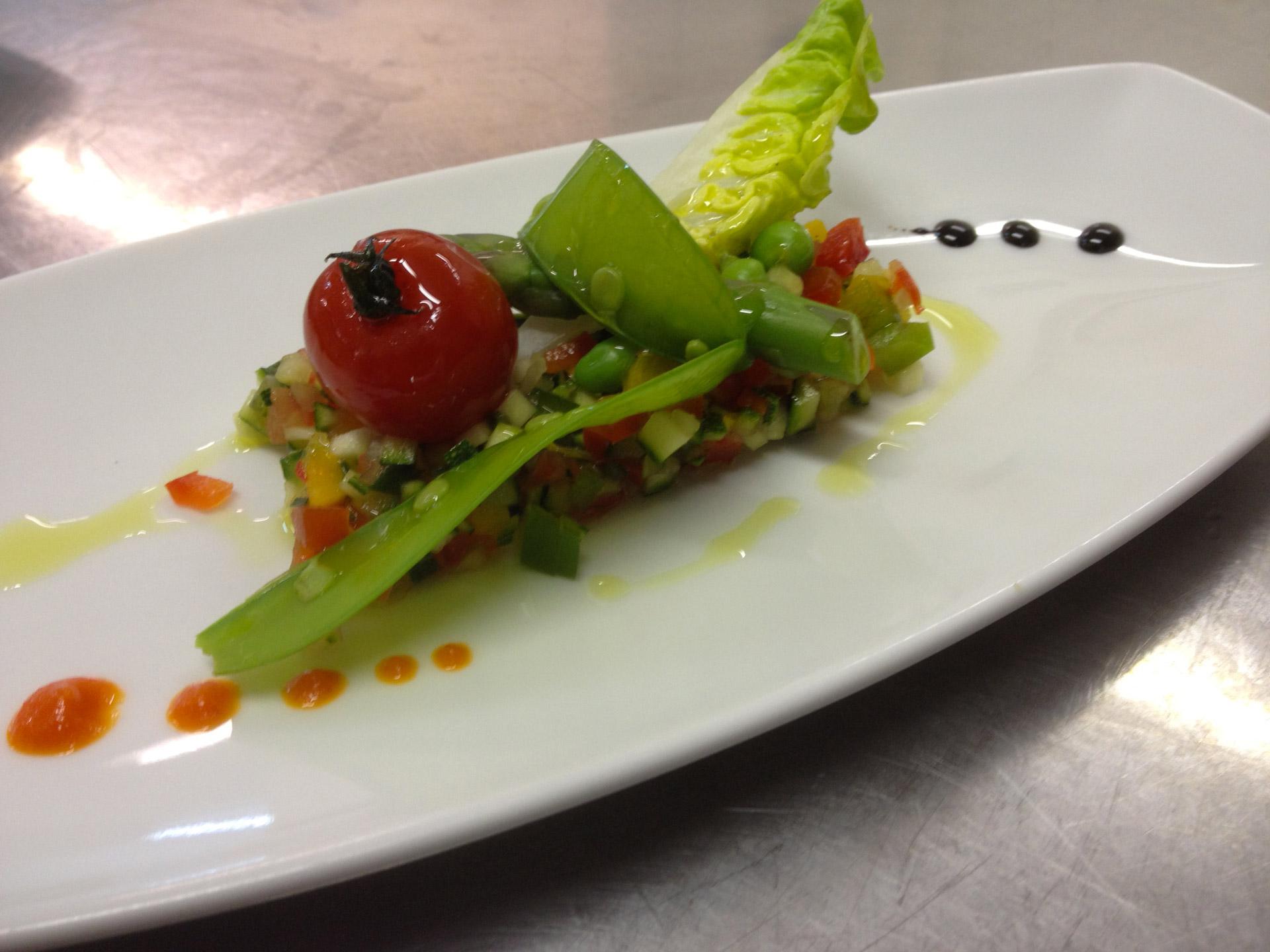 Tartare de légumes - L'antre Gourmand